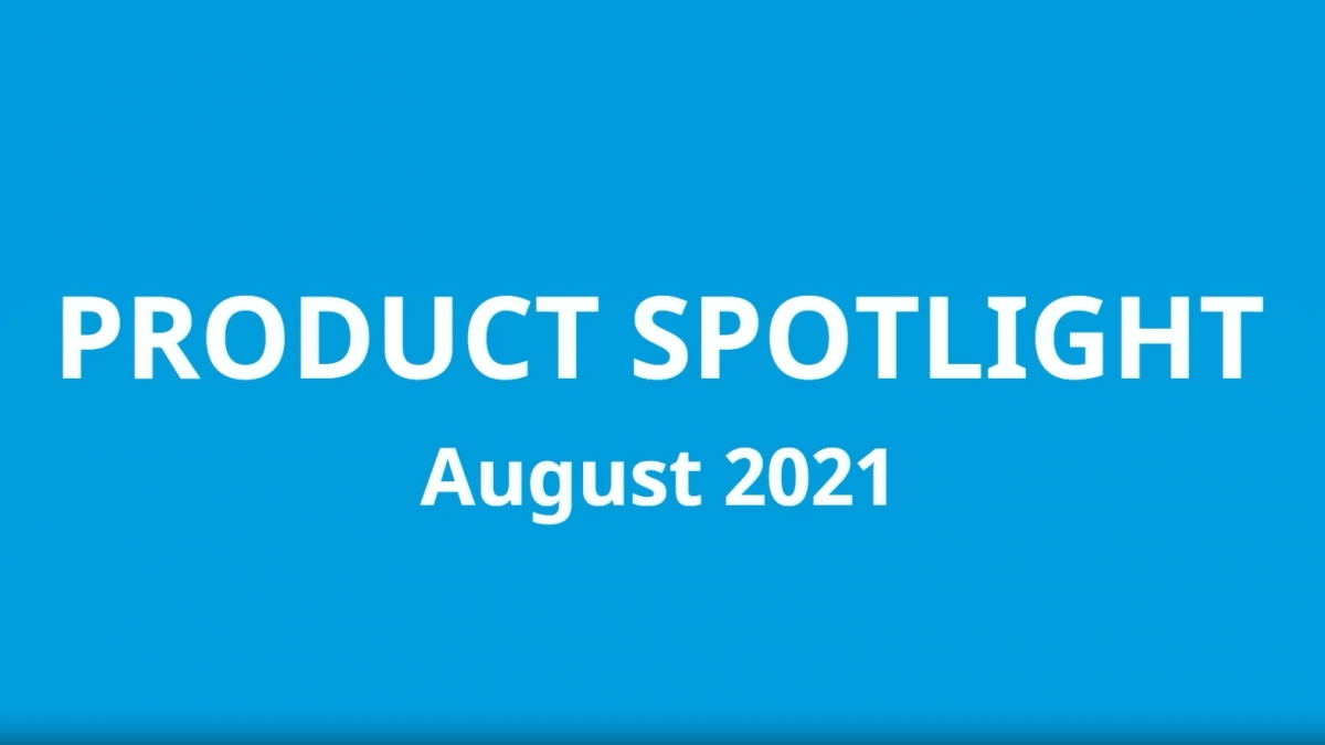 product update august 2021